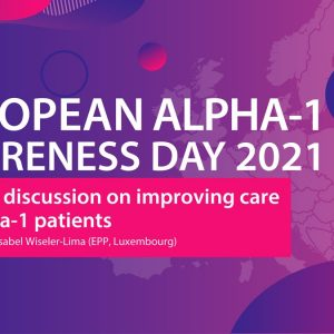 Political Discussions on Improving Care for Alpha-1 Patients